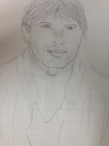 Ashton Kutcher by Margalith